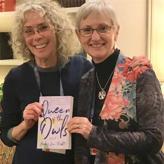 With Kathryn Craft, author and mentor extraordinaire