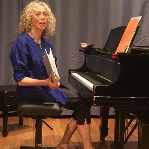 """I'm what they call a """"serious amateur pianist""""—meaning that I study and play, purely for the love of the music"""